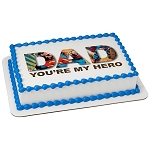 Superman™ You're My Hero PhotoCake® Edible Image®