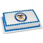 United States Navy PhotoCake® Edible Image®