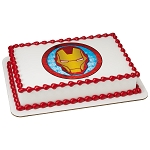 MARVEL Avengers Iron Man Icon Edible Image