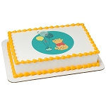 Disney Baby Winnie the Pooh 1st Birthday PhotoCake® Edible Image®