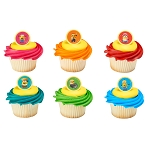 Despicable Me 3™ Mayhem Cupcake Rings- 12