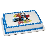 Justice League™ Team Unite PhotoCake® Edible Image®