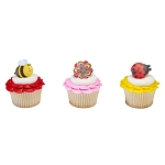 Spring has Blossomed Cupcake Rings- 12