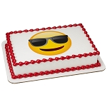 emoji® Sunglasses PhotoCake® Edible Image®