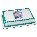 Peppa Pig™ Hip Hip Hooray PhotoCake® Edible Image®