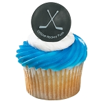 Hockey Puck Cupcake Rings