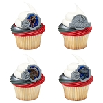 Jurassic World™ Fallen Kingdom They Were Here First Cupcake Rings- 12