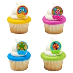 Spring Friends Cupcake Rings- 12