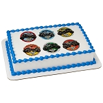 Monster Jam® High Flyin' PhotoCake® Edible Image®