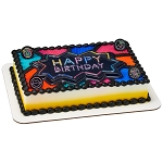 Neon Happy Birthday Pop Tops®