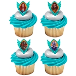 Aquaman™ Quest Cupcake Rings- 12