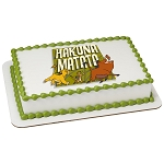 The Lion King Hakuna Matata PhotoCake® Edible Image®
