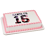 Sixteen Candles PhotoCake® Edible Image®