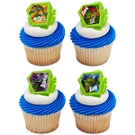 Teenage Mutant Ninja Turtles™ Power Up! Cupcake Rings- 12