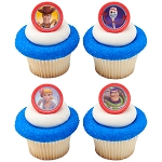 Disney/Pixar Toy Story 4 Toys Play Cupcake Rings- 12