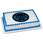 MARVEL Avengers Black Panther Icon PhotoCake® Edible Image®