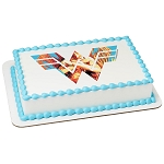 Wonder Woman™ 1984 Fight For Justice PhotoCake® Edible Image®