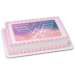 Wonder Woman™ 1984 Wonder Woman 1984 PhotoCake® Edible Image®
