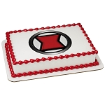 MARVEL Avengers Black Widow Icon PhotoCake® Edible Image®