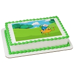 Adventure Time™ Finn and Jake PhotoCake® Edible Image®