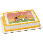 Adventure Time™ Land Of Ooo PhotoCake® Edible Image®