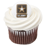 United States Army® Cupcake Rings