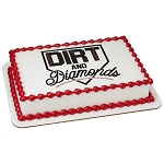 Dirt And Diamonds PhotoCake® Edible Image®