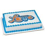 Basketball Love PhotoCake® Edible Image®