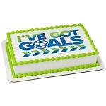 I've Got Goals PhotoCake® Edible Image®