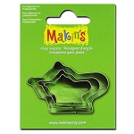 Makin's Tea Pot 3 pc. Cutter Set
