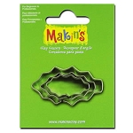 Makin's Holly Leaf 3 pc. Cutter Set