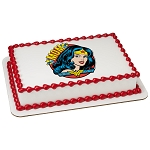 Wonder Woman™ Amazing Mom! PhotoCake® Edible Image®
