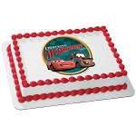 Cars Victory Lane PhotoCake® Edible Image®
