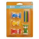 Race Car Candle Set