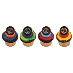 Monster Jam® Car Crushing Cupcake Rings- 12