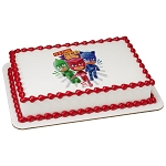 PJ Masks It's Time to be a Hero PhotoCake® Edible Image®