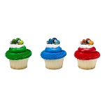 Thomas & Friends™ Steam Team Cupcake Rings- 12