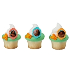Moana Voyagers Cupcake Rings- 12