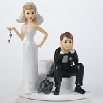 Ball and Chain Figurine