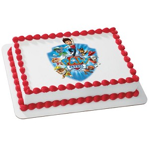 Easily fits a Quarter Sheet Cake or even on a Round Cake